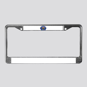 Chino Police License Plate Frame