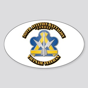 Army - 269th Aviation Bn V2 Sticker (Oval)