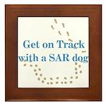 On Track with SAR Framed Tile
