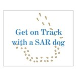 On Track with SAR Small Poster