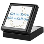 On Track with SAR Keepsake Box