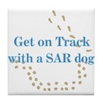 On Track with SAR Tile Coaster