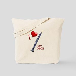 I Love My OBOE (2) Tote Bag
