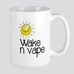 Wake -n- Vape Large Mug