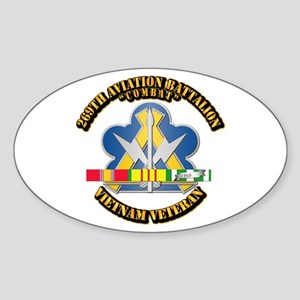 Army - 269th Aviation Bn V2 w SVC Ribbon Sticker (