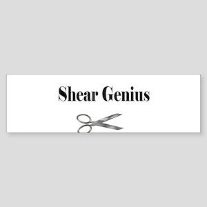 sheargenius Bumper Sticker