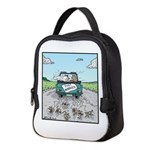 Cats Wedding car Mice Neoprene Lunch Bag