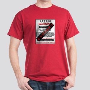 Area 51 Exposed Dark T-Shirt