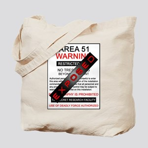 Area 51 Exposed Tote Bag