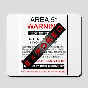 Area 51 Exposed Mousepad