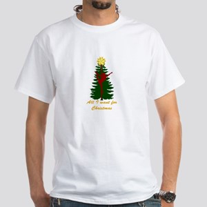 All I Want for Christmas Yellow T-Shirt
