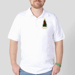 All I Want for Christmas Yellow Golf Shirt