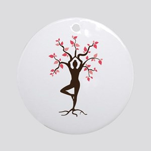 Yoga Ornament (Round)