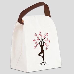 Yoga Canvas Lunch Bag