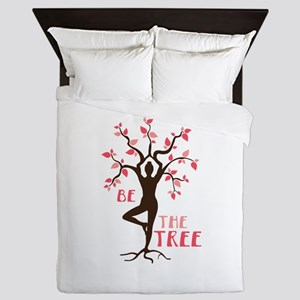 BE THE TREE Queen Duvet