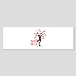 MIND BODY SPIRIT Bumper Sticker