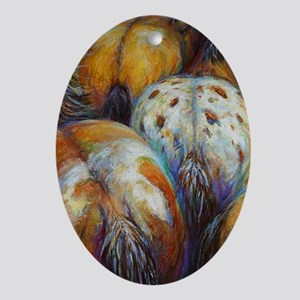 Bodacious painting Ornament (Oval)