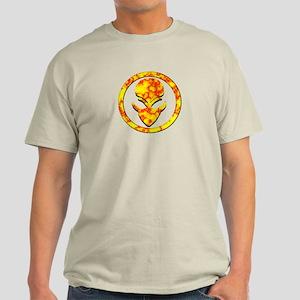 Red N Yellow Alien Face Light T-Shirt