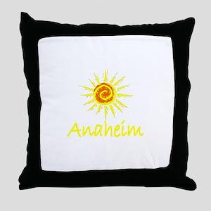 Anaheim, California Throw Pillow