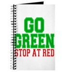 Go Green, Stop at Red Journal