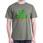 Go Green, Stop at Red Dark T-Shirt