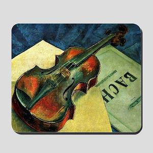 Violin, 1921 painting by Kuzma Petrov-Vo Mousepad