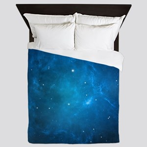 Blue Space Queen Duvet