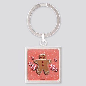 Gingerbread Man Cookie Candies Keychains