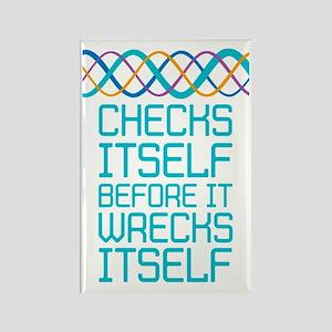 DNA Checks Itself Magnets