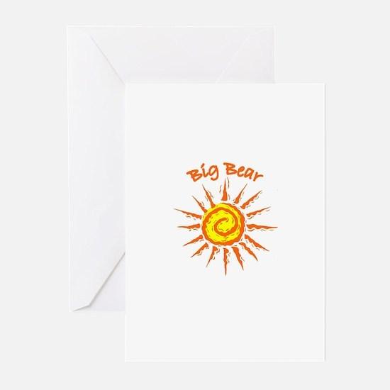 Big Bear, California Greeting Cards (Pk of 10)