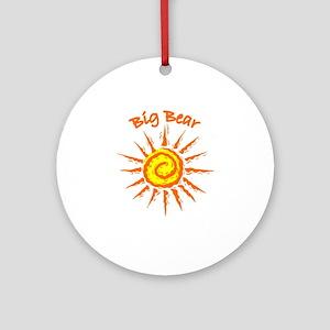 Big Bear, California Ornament (Round)