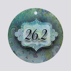 26.2, Marathon by Vetro Jewelry & D Round Ornament
