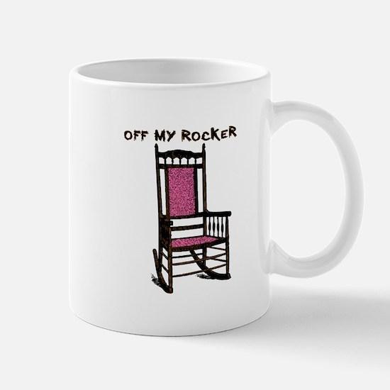 OFF MY ROCKER-1-PINK Mugs