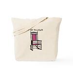 OFF MY ROCKER-1-PINK Tote Bag