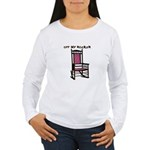 OFF MY ROCKER-1-PINK Long Sleeve T-Shirt
