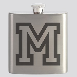 Personalized Monogram M Flask For Men And Women