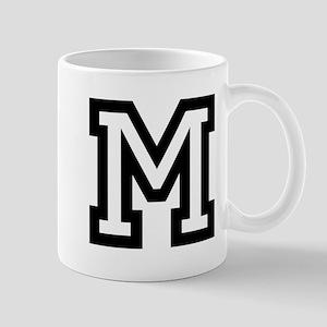 Personalized Monogram M Mugs