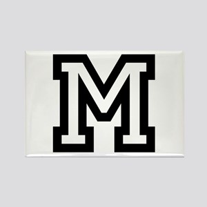 Personalized Monogram M Magnets