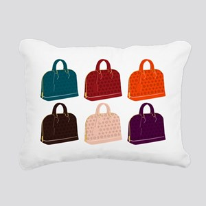 alma handbags Rectangular Canvas Pillow