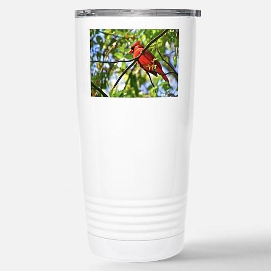 Cardinal Color Stainless Steel Travel Mug