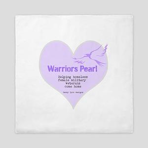 Warriors Pearl Queen Duvet