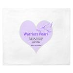 Warriors Pearl King Duvet