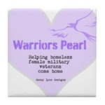 Warriors Pearl Tile Coaster