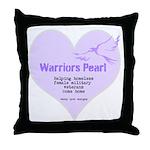 Warriors Pearl Throw Pillow