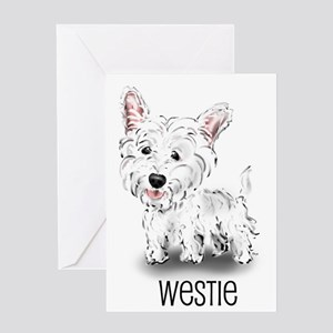 Westhighland White Terrier Greeting Cards (Package