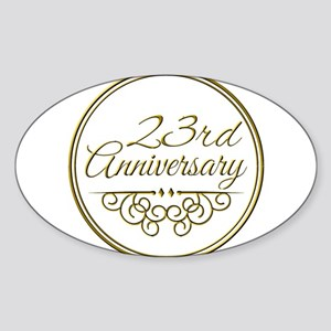 23rd Anniversary Sticker