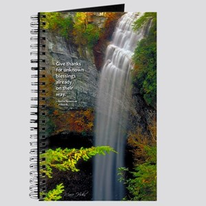 Waterfall Blessings Journal
