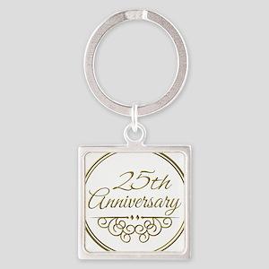 25th Anniversary Keychains