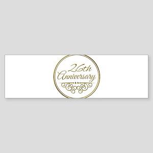 26th Anniversary Bumper Sticker