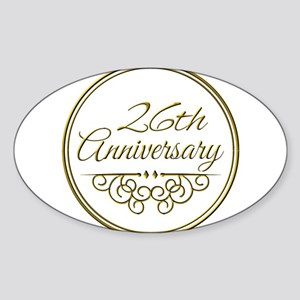 26th Anniversary Sticker